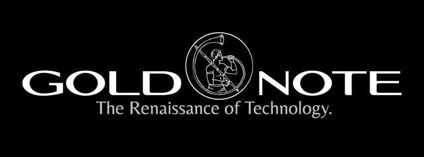 logo goldnote nero
