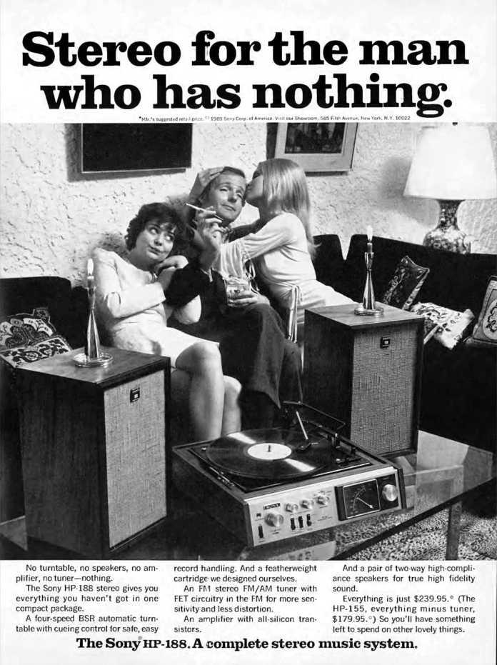 Pubblicità per audiofili