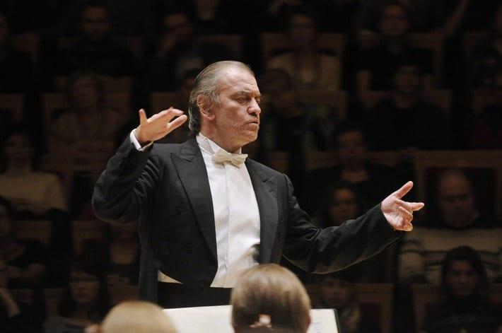 """Il leggendario direttore d'orchestra Valerij Gergiev / Testo complementare con ots e su www.presseportal.ch/fr/nr/100009795?langid=4 / L' utilizzo di quest'immagine è gratuito per scopi redazionali. Pubblicazione sotto indicazione di fonte: """"obs/Migros-Genossenschafts-Bund Direktion Kultur und Soziales/Valentin Baranovsky"""""""